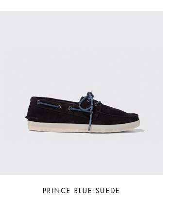 Prince Blue Suede