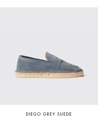 Diego Grey Suede