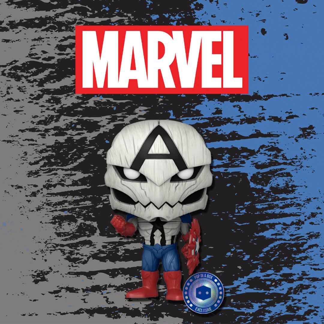 IN ESCLUSIVA per PIAB Poison Captain America!