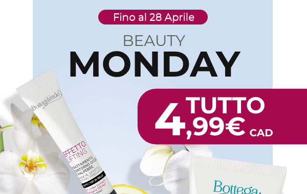 Fino al 28 aprile '21 Beauty Monday