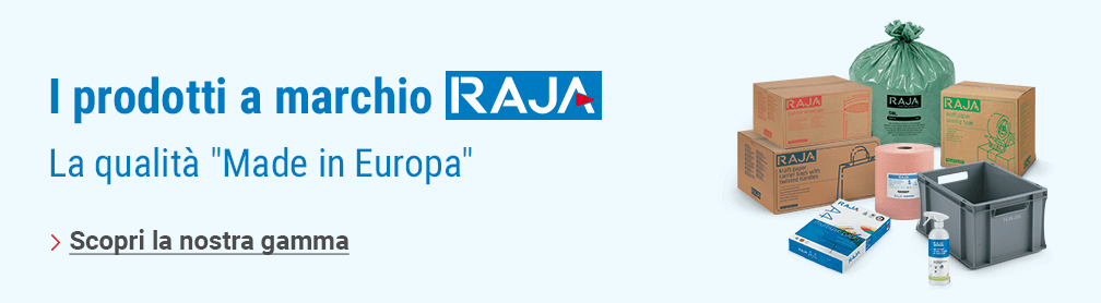 I prodotti a marchio RAJA