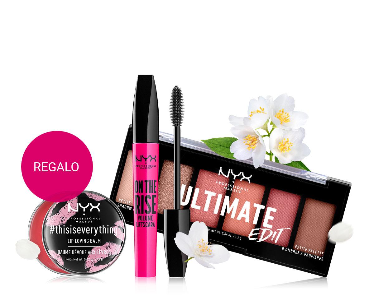 Balsamo per le labbra in omaggio con NYX Professional Makeup per ordini superiori a 19 €.