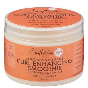 Shea Moisture spuma per capelli ricci al cocco e ibisco 326 ml