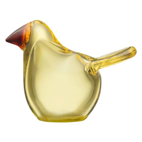 Birds by Toikka Pigliamosche, limone - rame