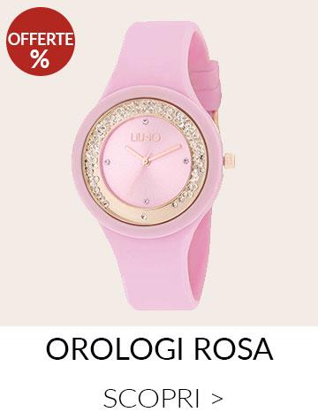 Orologi rosa