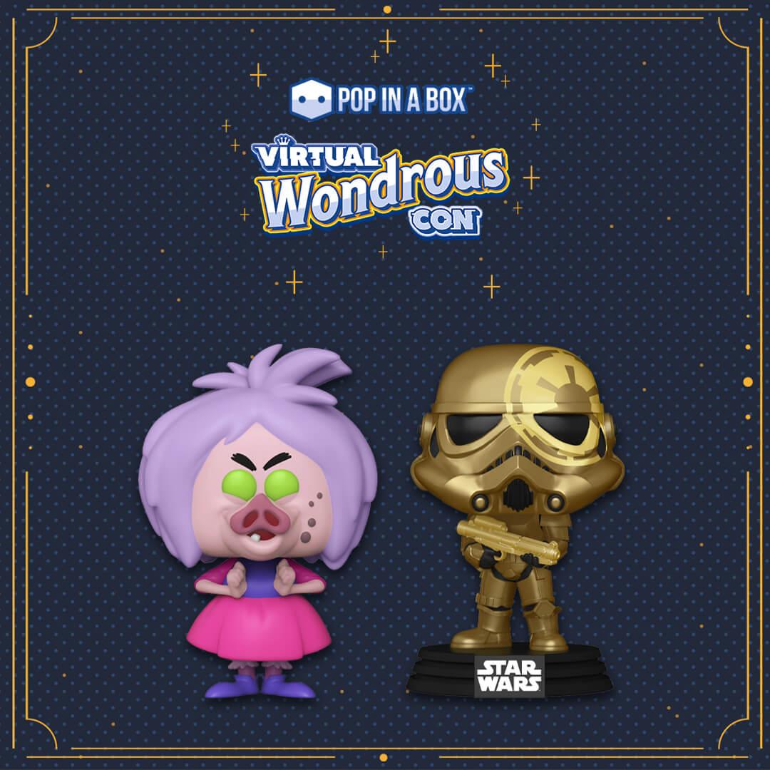 Nuovi Pop! EXC Madam Mim Wondrous e Stormtrooper!
