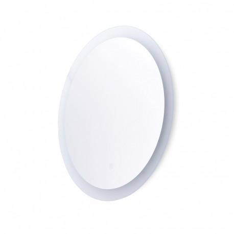 Specchio da bagno illuminato a LED Ø60 cm con interruttore tattile dimmerabile -