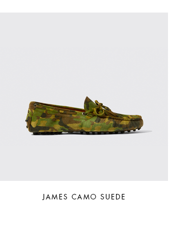 James Camo Suede