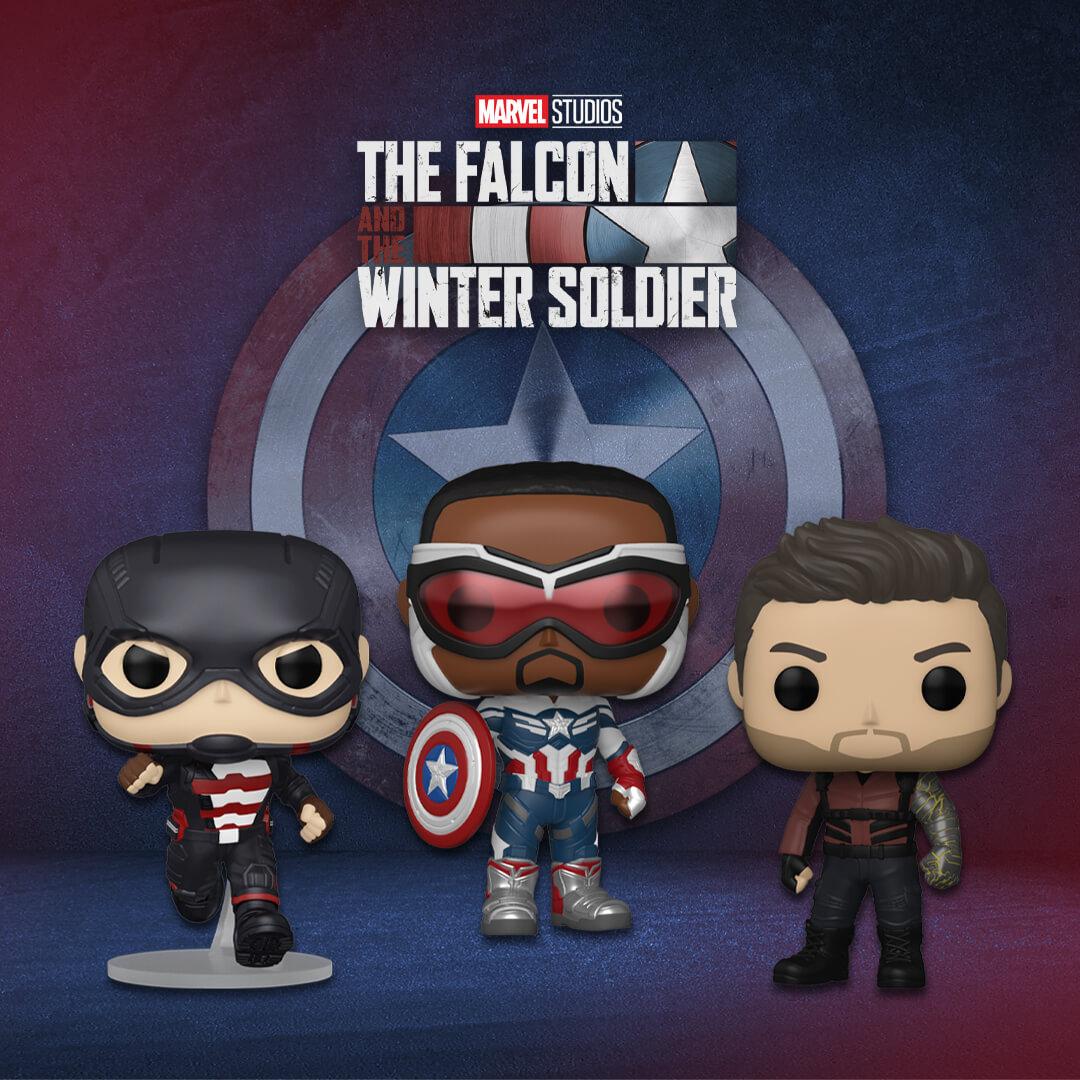 Nuovissimi Pop! The Falcon and the Winter Soldier!