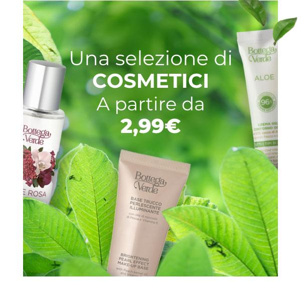 Cosmetici a partire da 2,99€