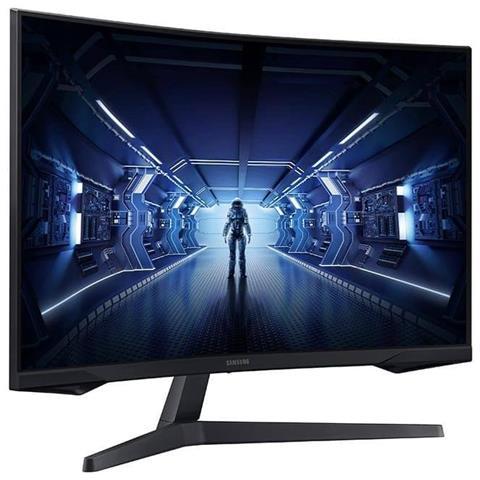 SAMSUNG Monitor 32'' LED VA Curvo Gaming Odyssey Tempo di Risposta 1 ms Frequenza di Aggiornamento 144 (Hz)