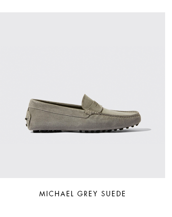 Michael Grey Suede