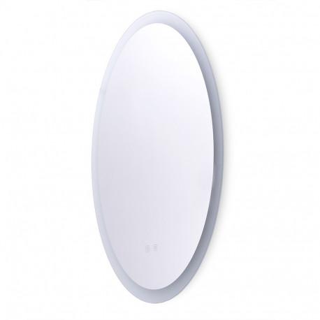 Specchio da bagno illuminato a LED 60x80 cm dimmerabile con interruttore tattile antiappannamento -
