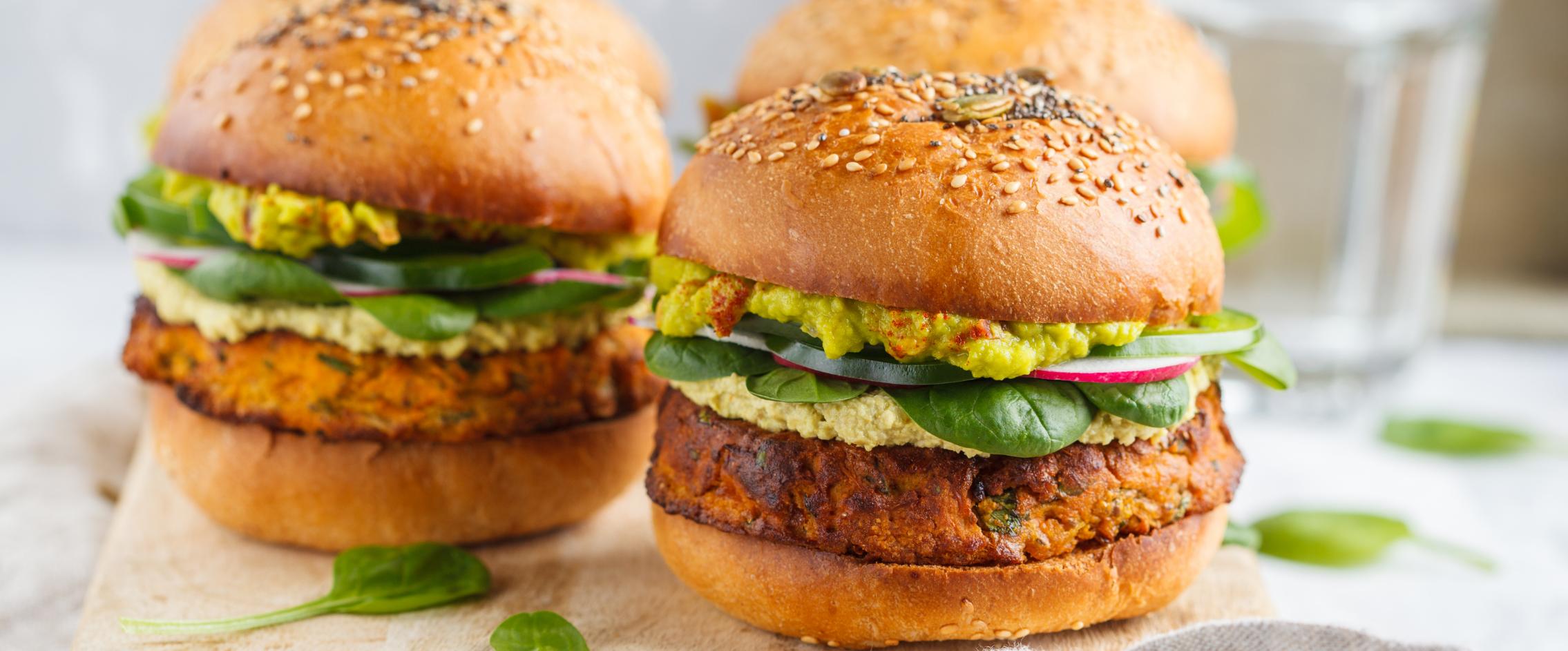 Ricetta burger proteici con farina di lupini