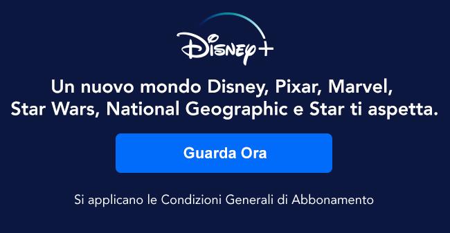 Disney+ Un nuovo mondo Disney, Pixar, Marvel, Star Wars, National Geographic e Star ti aspetta.