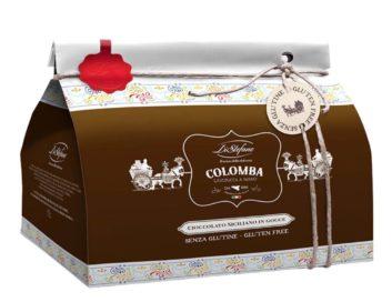 Colomba Pasquale Artigianale al cioccolato siciliano senza glutine 750gr