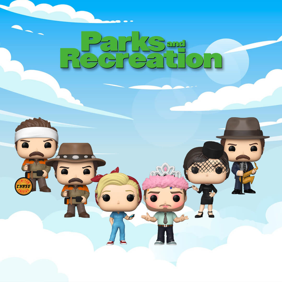 Nuovi Pop! Parks and Rec!