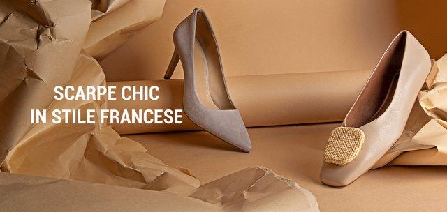 Scarpe chic in stile francese