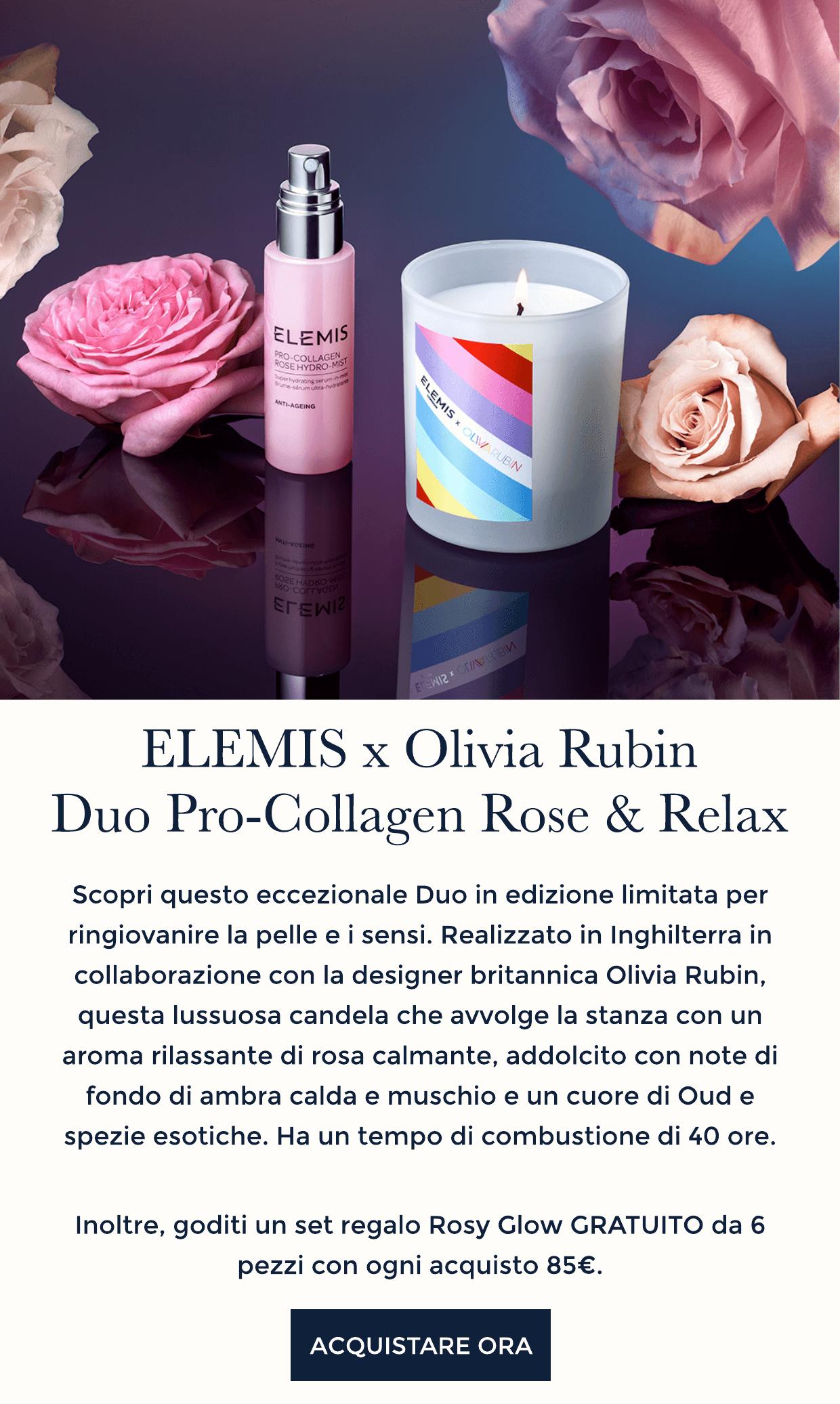ELEMIS x Olivia Rubin Pro-Collagen Duo