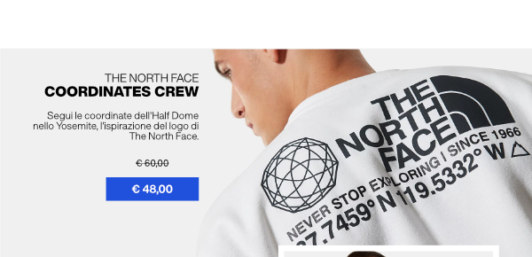 THE NORTH FACE CREWNECK FOR MAN