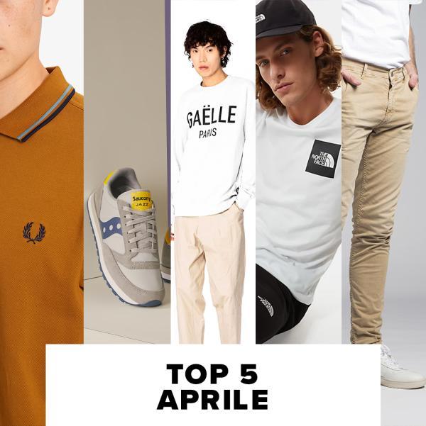 Top 5 di Aprile