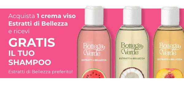 Scopri come avere il tuo shampoo estratti di bellezza!