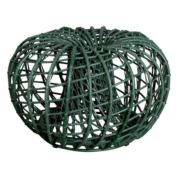 Poggiapiedi Nest, piccolo, verde scuro