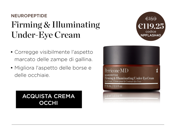 Acquista Firming and Illuminating Under Eye Cream