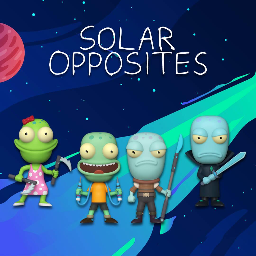 ☄️ Nuovi Pop! Solar Opposites ☄️