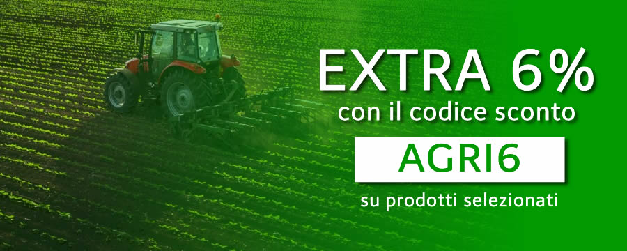 extra 6% sconto agricoltura