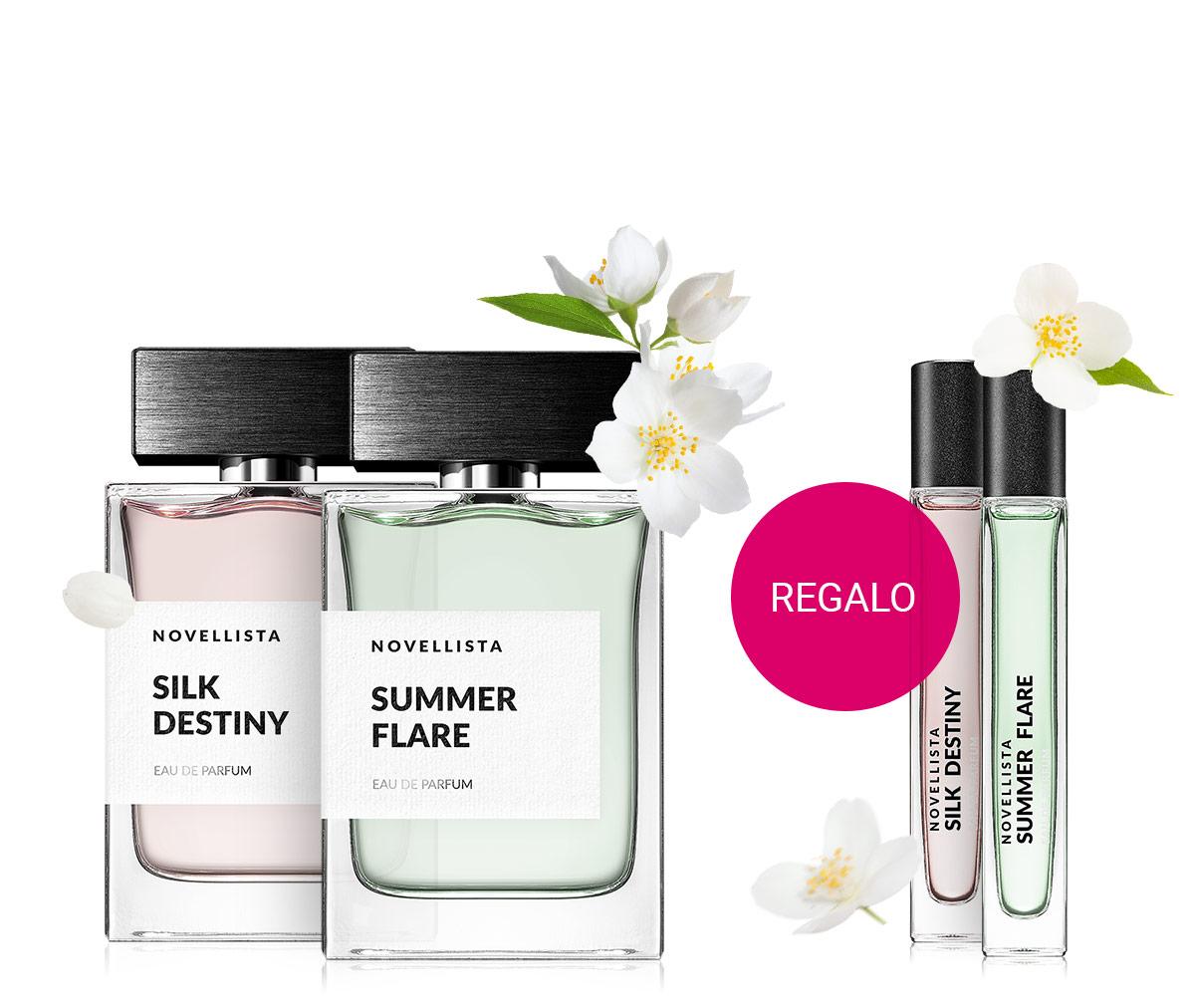 Profumo Novellista 10 ml in omaggio con l'acquisto di qualsiasi fragranza di questo marchio in formato da 75 ml.