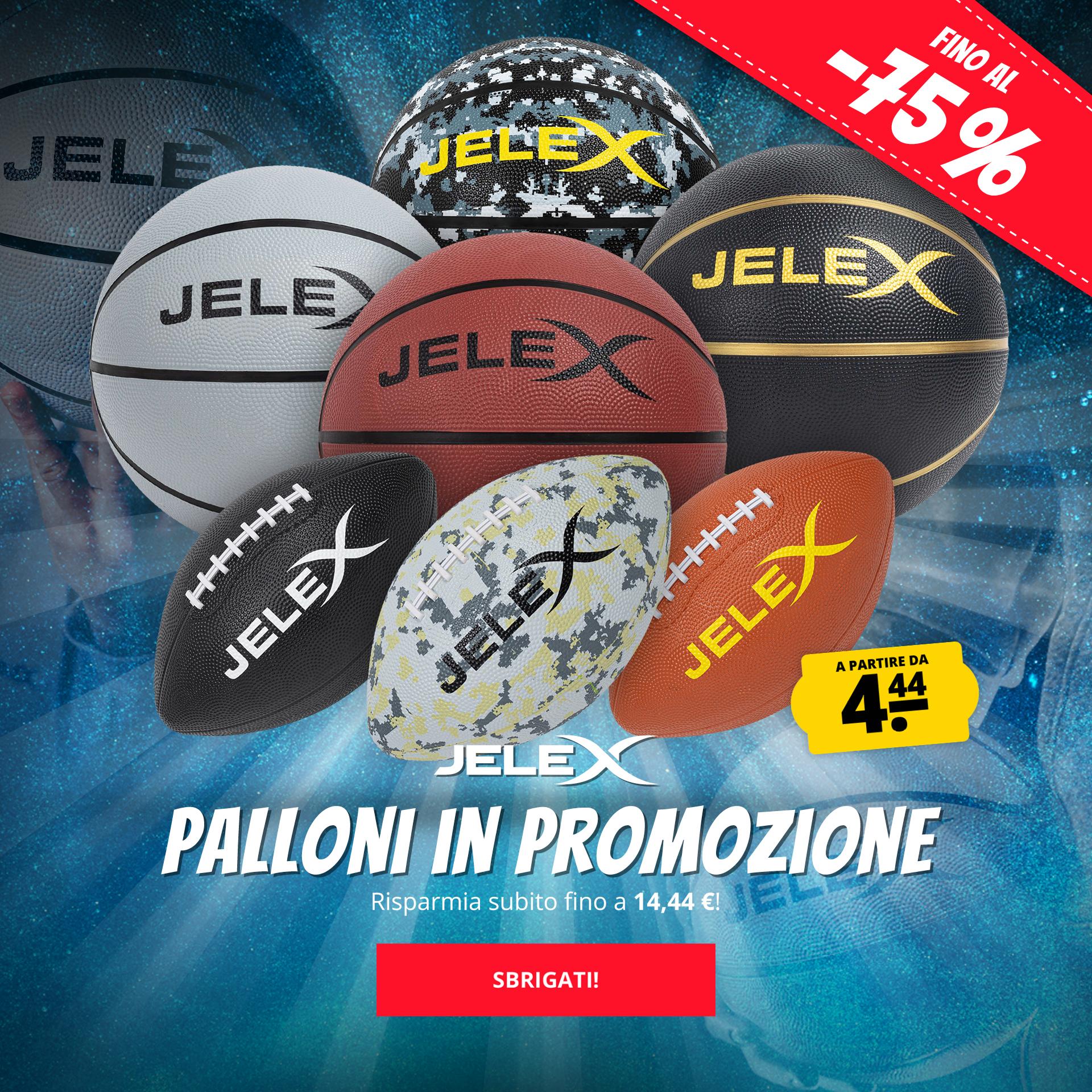 JELEX Palloni in promozione a partire da 4,44 €
