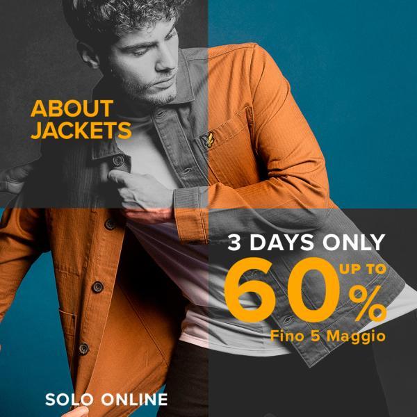 About Jackets - fino al 60% di sconto