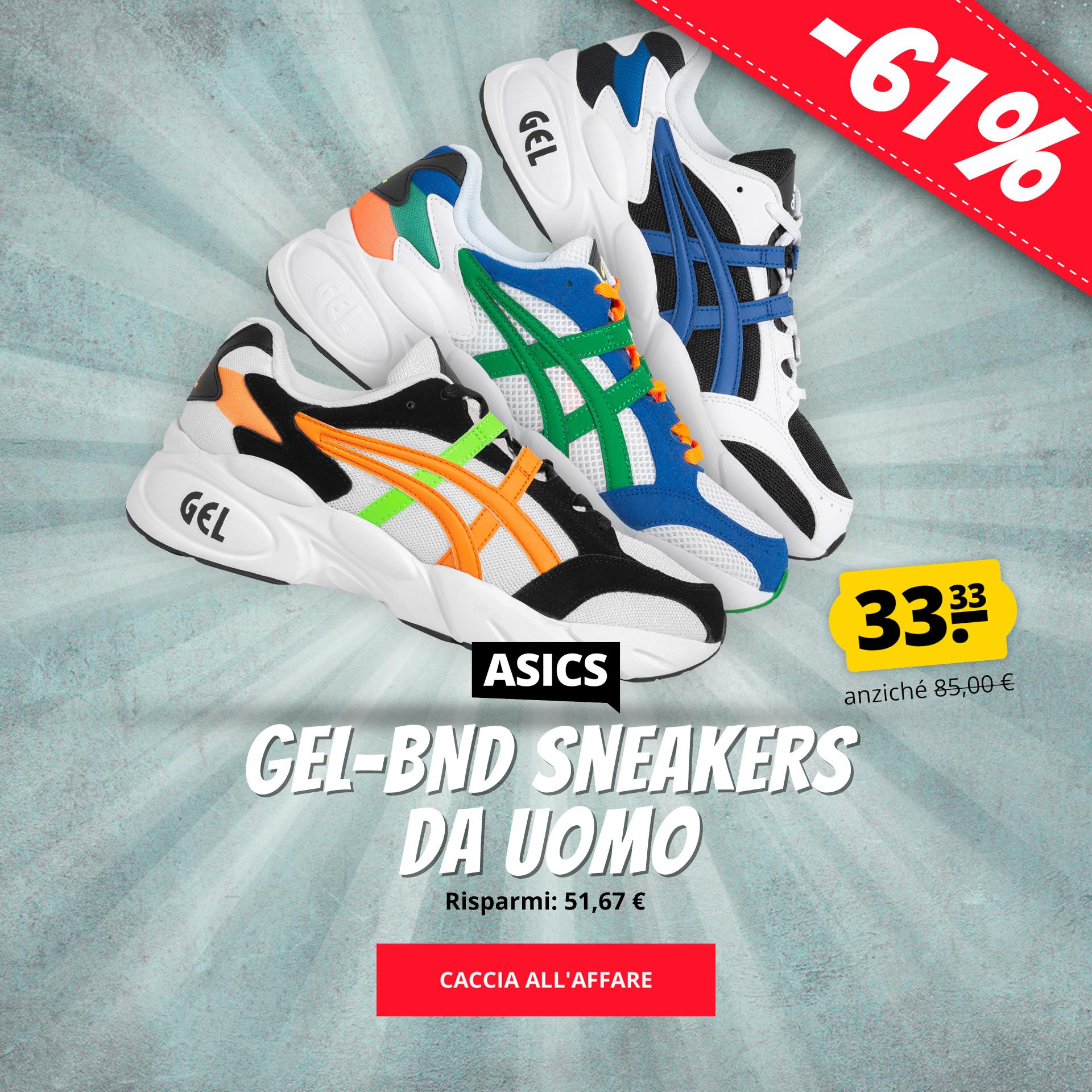 ASICS GEL-BND Sneakers da uomo solo 33,33 €