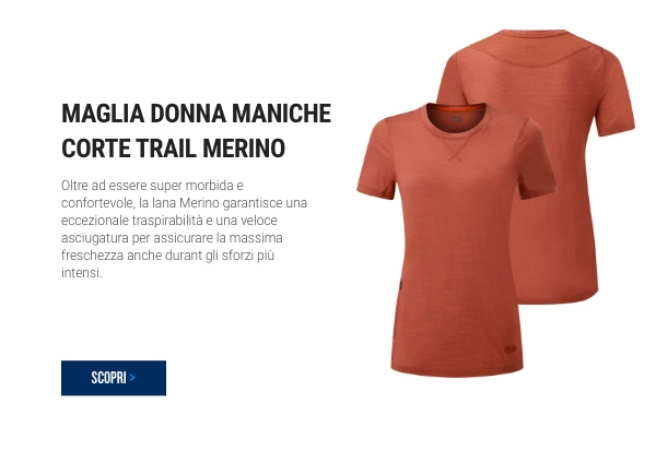 Trail Women's Merino Short Sleeve Jersey