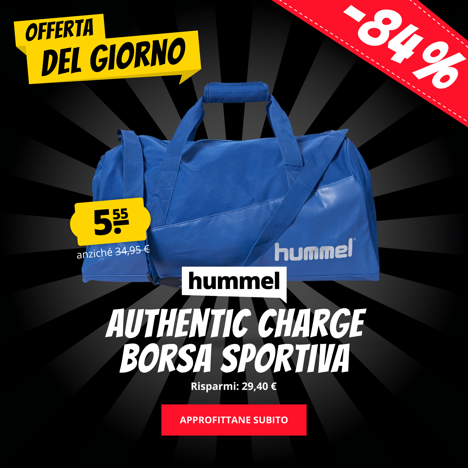hummel Authentic Charge Borsa sportiva solo 5,55 €