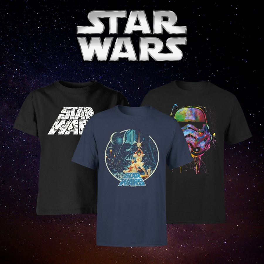 2 per 25€ sulle T-shirts Star Wars