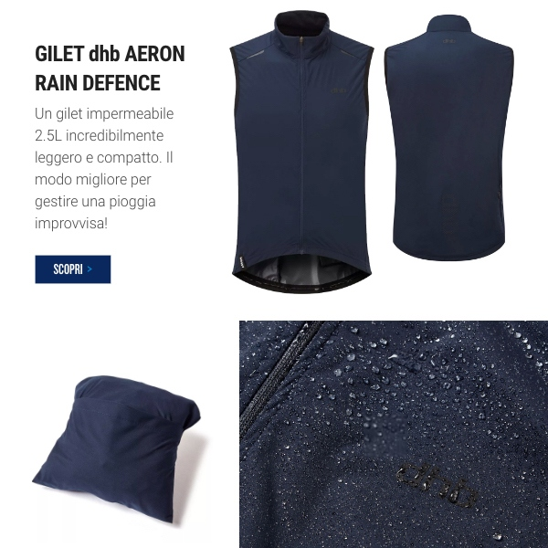 dhb Aeron Rain Defence Gilet