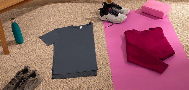 Abbigliamento sportivo estivo