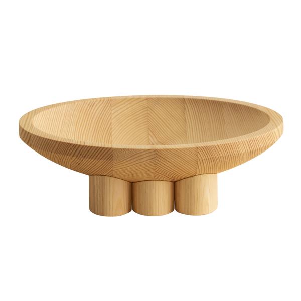 009 bowl, medium, pine