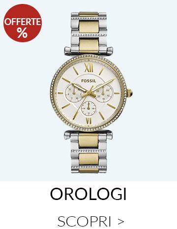 Offerte Orologi Fossil Donna