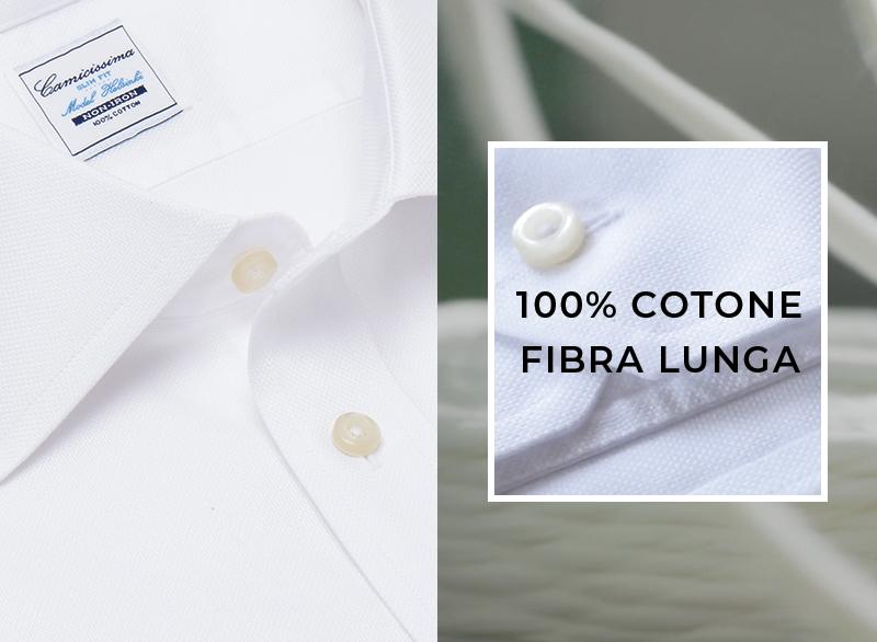 Tessuto 100% cotone a fibra lunga, perfetta per 24 ore