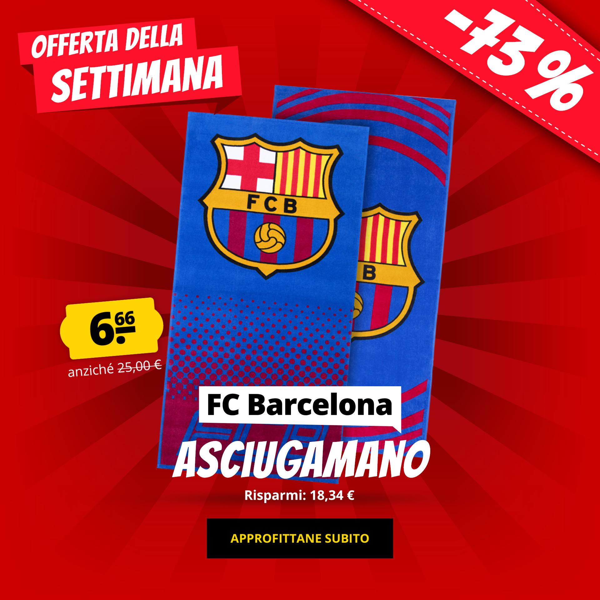 FC Barcelona Asciugamano solo 6,66 €