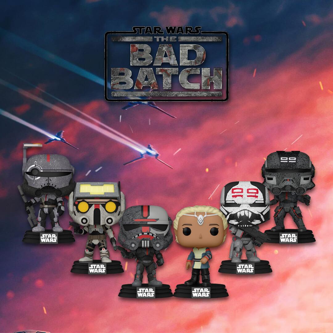 Nuovissimi Pop! Star Wars: The Bad Batch