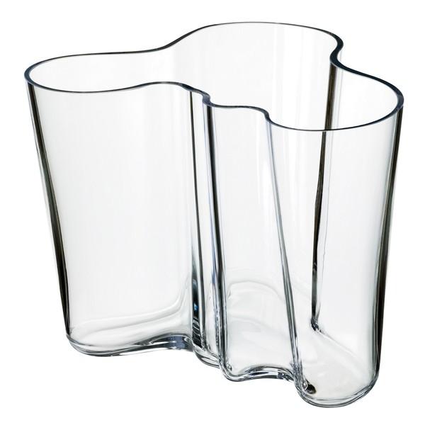 Vaso Aalto 160 mm, trasparente