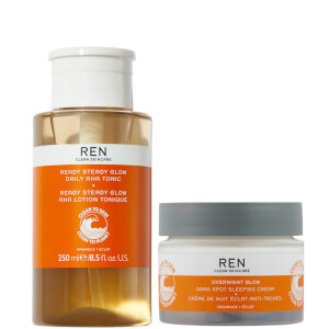 REN Clean Skincare The Radiance Night Time Duo