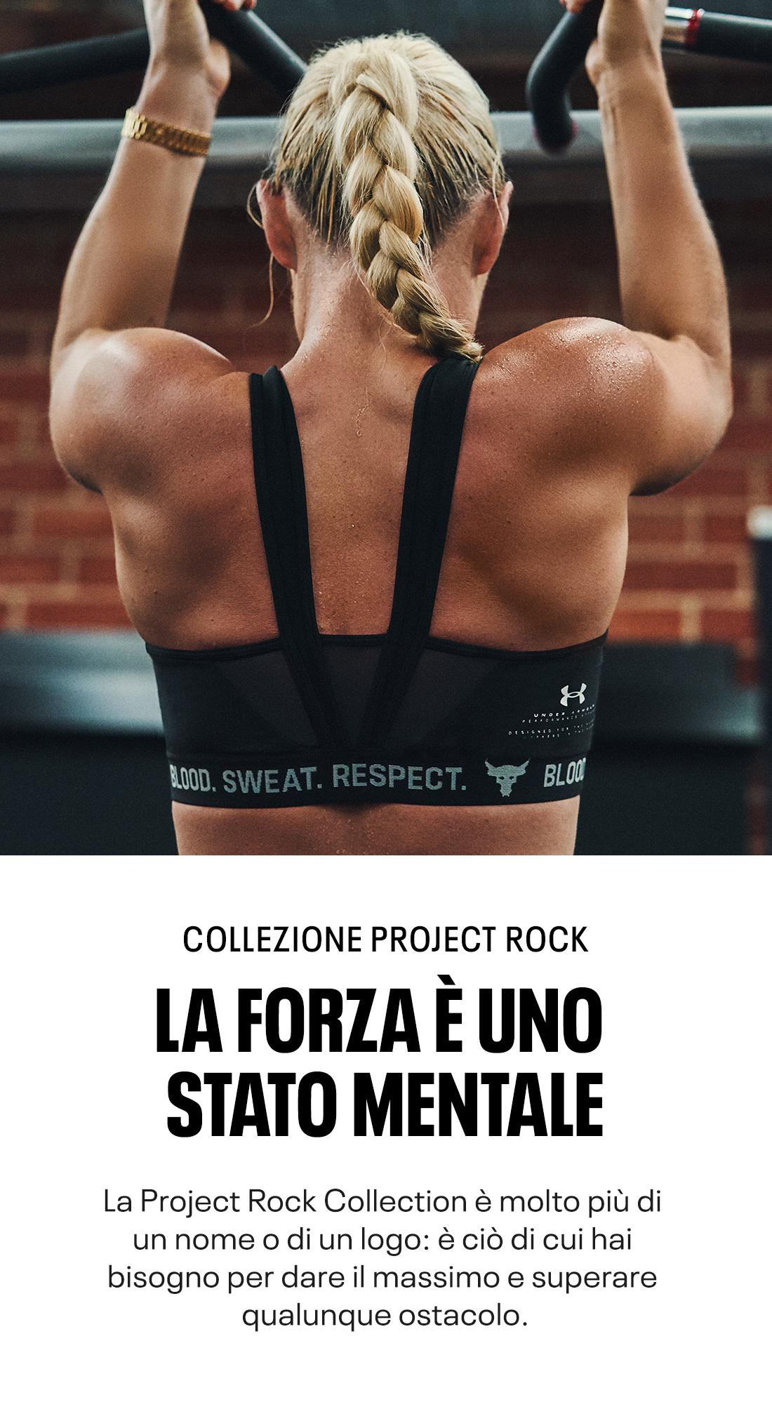 Collezione Project Rock - La Forza È Uno Stato Mentale