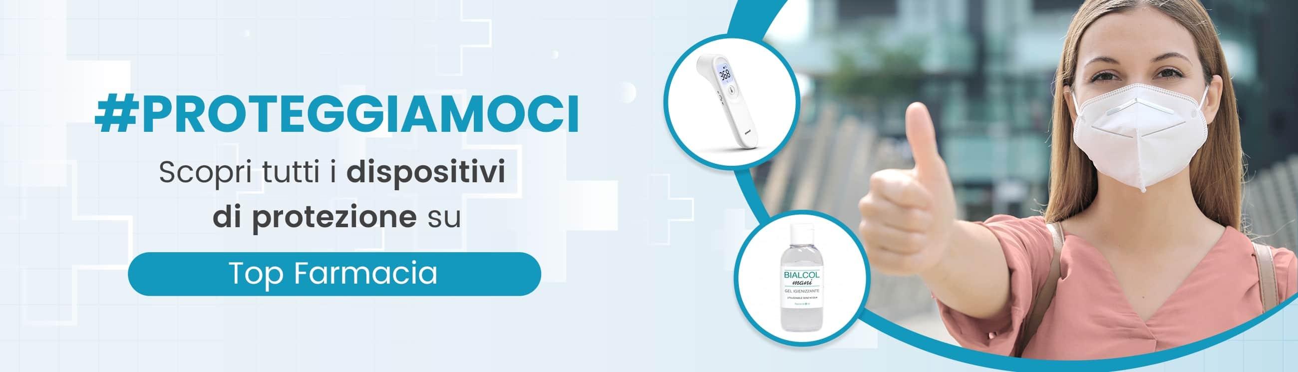 Dispositivi di protezione su Top Farmacia