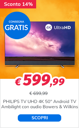 PHILIPS TV LED Ultra HD 4K 50''
