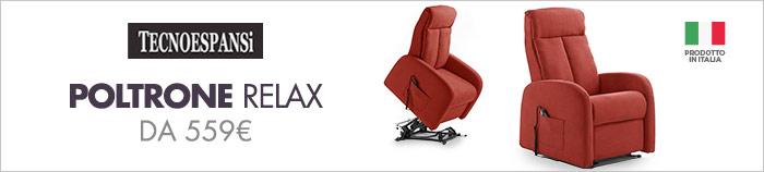 Poltrone relax da 559€